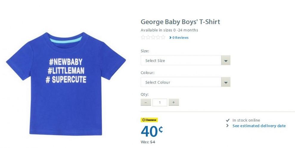 cheap walmart baby clothes