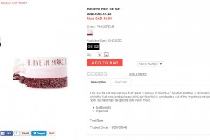 hair tie set forevor 21